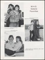 1983 Leftwich High School Yearbook Page 82 & 83
