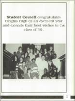 1991 Cleveland Heights High School Yearbook Page 224 & 225