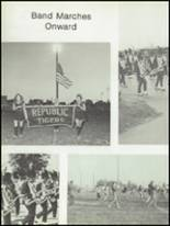 1976 Republic High School Yearbook Page 158 & 159
