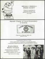 1976 Republic High School Yearbook Page 244 & 245