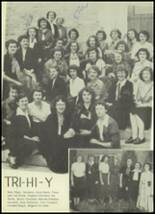 1952 Phillips High School Yearbook Page 104 & 105