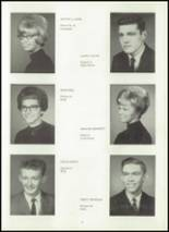 1967 Van Buren High School Yearbook Page 12 & 13