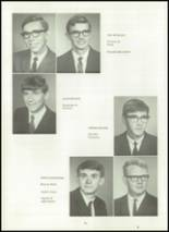 1967 Van Buren High School Yearbook Page 14 & 15