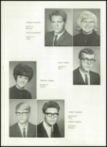 1967 Van Buren High School Yearbook Page 16 & 17