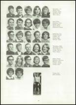 1967 Van Buren High School Yearbook Page 38 & 39