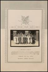 1936 Ft. Cobb High School Yearbook Page 30 & 31