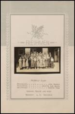 1936 Ft. Cobb High School Yearbook Page 36 & 37