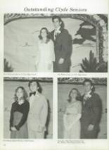 1975 Clyde High School Yearbook Page 16 & 17