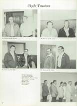 1975 Clyde High School Yearbook Page 22 & 23