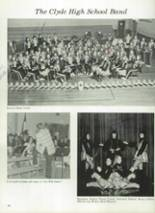 1975 Clyde High School Yearbook Page 60 & 61