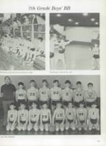 1975 Clyde High School Yearbook Page 124 & 125