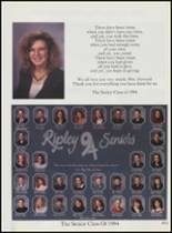 1994 Ripley High School Yearbook Page 52 & 53