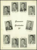 1951 Mt. St. Michael Academy Yearbook Page 110 & 111