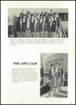 1962 Marin Catholic High School Yearbook Page 52 & 53
