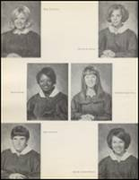 1971 Quanah High School Yearbook Page 12 & 13