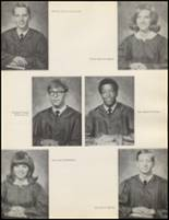 1971 Quanah High School Yearbook Page 14 & 15