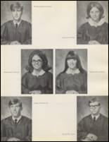1971 Quanah High School Yearbook Page 16 & 17