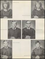 1971 Quanah High School Yearbook Page 18 & 19