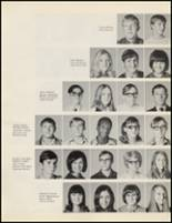 1971 Quanah High School Yearbook Page 22 & 23