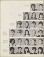 1971 Quanah High School Yearbook Page 24 & 25