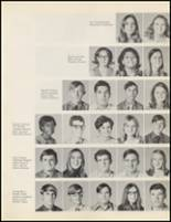 1971 Quanah High School Yearbook Page 28 & 29