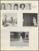 1971 Quanah High School Yearbook Page 32 & 33