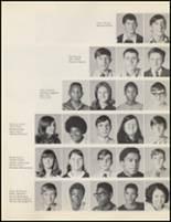 1971 Quanah High School Yearbook Page 34 & 35