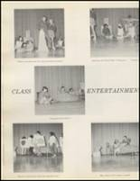 1971 Quanah High School Yearbook Page 54 & 55