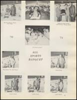 1971 Quanah High School Yearbook Page 84 & 85