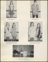 1971 Quanah High School Yearbook Page 98 & 99