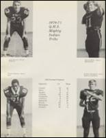 1971 Quanah High School Yearbook Page 118 & 119
