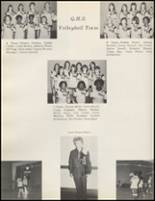 1971 Quanah High School Yearbook Page 132 & 133