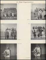 1971 Quanah High School Yearbook Page 162 & 163
