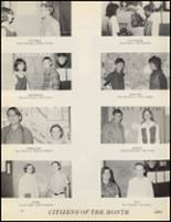 1971 Quanah High School Yearbook Page 194 & 195
