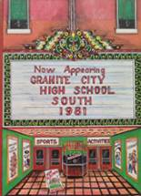1981 Yearbook Granite City High School