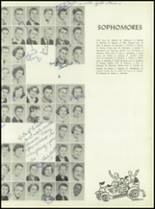 1955 Alexis I. DuPont High School Yearbook Page 36 & 37