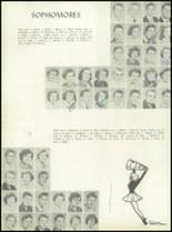 1955 Alexis I. DuPont High School Yearbook Page 38 & 39