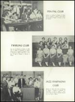 1955 Alexis I. DuPont High School Yearbook Page 56 & 57