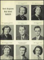1952 South Kingstown High School Yearbook Page 10 & 11