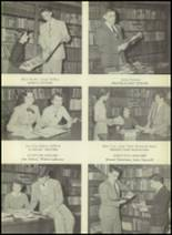 1952 South Kingstown High School Yearbook Page 14 & 15