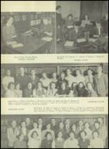 1952 South Kingstown High School Yearbook Page 16 & 17