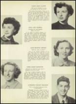 1952 South Kingstown High School Yearbook Page 18 & 19