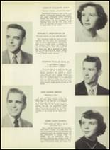 1952 South Kingstown High School Yearbook Page 20 & 21