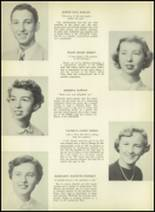 1952 South Kingstown High School Yearbook Page 22 & 23