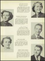 1952 South Kingstown High School Yearbook Page 24 & 25
