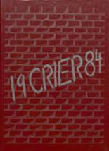 1984 Yearbook Fairbury-Cropsey High School