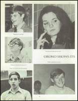 1970 Orono High School Yearbook Page 22 & 23