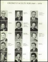 1970 Orono High School Yearbook Page 72 & 73