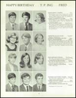 1970 Orono High School Yearbook Page 98 & 99