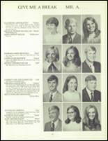 1970 Orono High School Yearbook Page 100 & 101